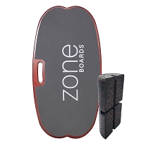 Zone Fitness Balance Board [Mahogany w/Grey EVA]